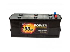 Аккумулятор POWER 6СТ-190 а/ч евро конус
