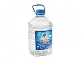 Дистиллированная вода 4 л.