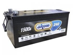 Аккумулятор АКОМ EFB 6СТ-240 А/ч обратная полярность