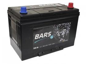 Аккумулятор BARS 6СТ-100 обратная полярность (азия)