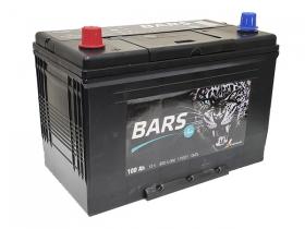 Аккумулятор BARS 6СТ-100 прямая полярность (азия)