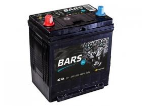 Аккумулятор BARS 6СТ-42 прямая полярность (азия)