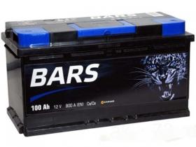 Аккумулятор BARS 6СТ-100 а/ч обратная полярность