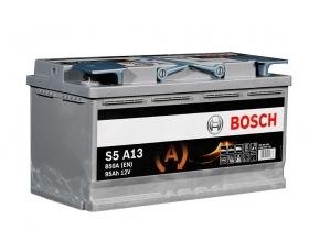 Bosch S5 A13 AGM 95 А/ч