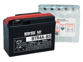 BS-BATTERY BTR4A-BS (YTR4A-BS) МотоАккумулятор