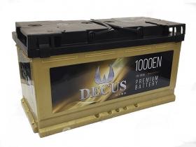 Аккумулятор DECUS 6СТ-110 А/ч прямая полярность