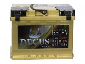Аккумулятор DECUS 6СТ-60 а/ч золото прямая полярность