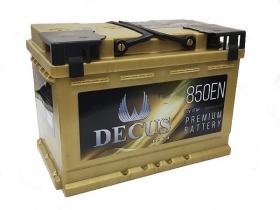 Аккумулятор DECUS 6СТ-77 а/ч золото обратная полярность