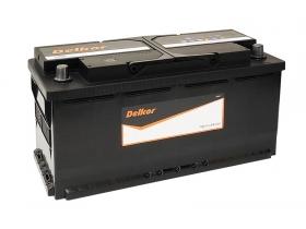 Аккумулятор Delkor 110 А/ч обратная полярность