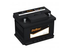 Аккумулятор Delkor 61 А/ч. о.п низкий (56177)