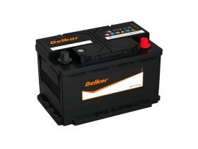 Аккумулятор Delkor 80 А/ч обратная полярность (58039)