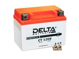 Мото аккумулятор Delta CT-1209 (YTX9-BS, YTX9)