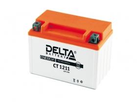 Мото аккумулятор Delta CT-1211 (YTZ12S, YTZ14S)