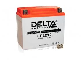 Мото аккумулятор Delta CT-1212 (YTX12-BS)