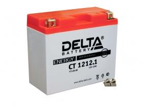 Мото аккумулятор Delta CT-1212.1 (YT12B-BS)