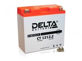 Мото аккумулятор Delta CT-1212.2 (YT14B-BS)