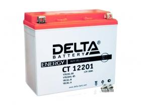 Мото аккумулятор Delta CT-12201 (YTX20L-BS, YTX20HL-BS, YB16L-B, YB18L-A)