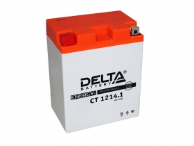 Аккумулятор Delta CT-1214.1 (YB14-A2S, YTX14AH, YTX14AH-BS)