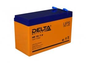Аккумулятор для источника бесперебойного питания  DELTA HR 12-7,2