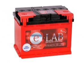 АКБ E-Lab 62 А/ч прямой