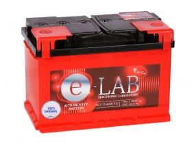 АКБ E-Lab 75 А/ч