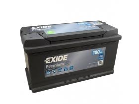 Аккумулятор EXIDE Premium 100 а/ч обратная полярность (EA1000)