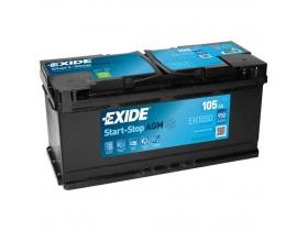 Аккумулятор EXIDE START&STOP AGM 105 а/ч обратная полярность (EK1050)