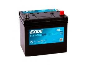 Аккумулятор EXIDE START&STOP EFB 60 а/ч обратная полярность (азия)
