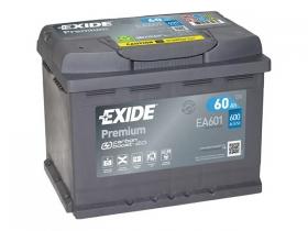 Аккумулятор EXIDE Premium 60 а/ч прямая полярность (EA601)