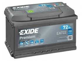 Аккумулятор EXIDE Premium 72 а/ч обратная полярность (EA722)