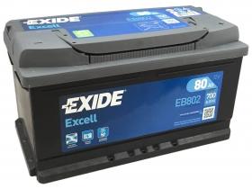 EXIDE EXCELL 80 а/ч обратная полярность