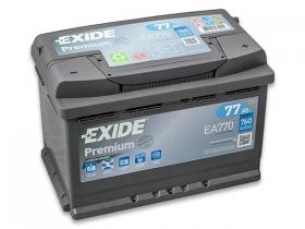 Аккумулятор EXIDE Premium 77 а/ч обратная полярность (EA770)