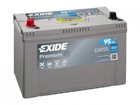 Аккумулятор EXIDE PREMIUM 95 а/ч прямая полярность (EA955) азия