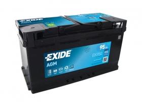 Аккумулятор EXIDE START&STOP AGM 95 а/ч обратная полярность (EK950)