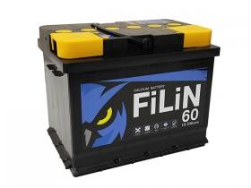 Аккумулятор FILIN 6CT - 60 а/ч обратная полярность
