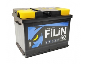 Аккумулятор FILIN 6CT - 60 а/ч прямая полярность