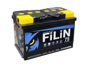 Аккумулятор FILIN 6CT - 75 а/ч обратная полярность