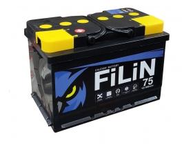 Аккумулятор FILIN 6CT - 75 А/ч прямая полярность
