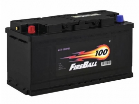 Аккумулятор FIRE BALL 100 А/ч обратная полярность
