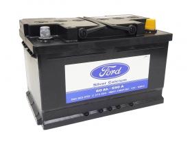 Аккумулятор FORD SILVER CALCIUM 60 А/ч обратная полярность, 560003059