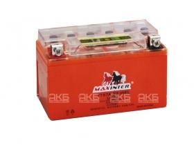 Мото аккумулятор Maxinter 12V 7А/ч с индикатором