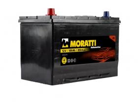 Авто аккумулятор Moratti 6СТ- 100А/ч, прямая полярность, Asia