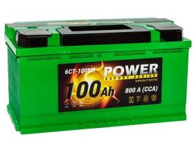 АКБ Power 100 А/ч обратная