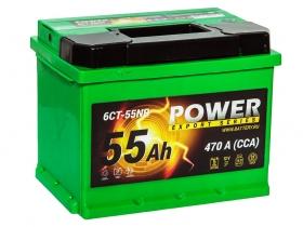 АКБ Power 55 А/ч обратная