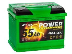АКБ Power 55 А/ч