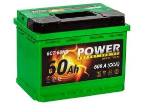 АКБ Power 60 А/ч обратная