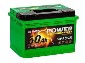 Power 60 А/ч низкий