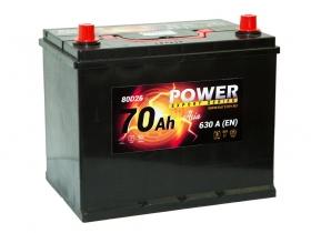 Power 70 А/ч Asia