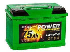 АКБ Power 75 А/ч