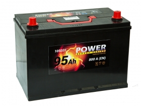 АКБ Power 95 А/ч Asia